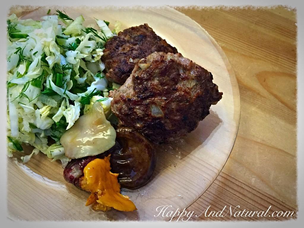 Курица с брокколи и цветной капустой в духовке рецепт с фото